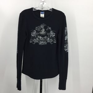 Mickey Mouse Living Legend Waffle Knit T-Shirt